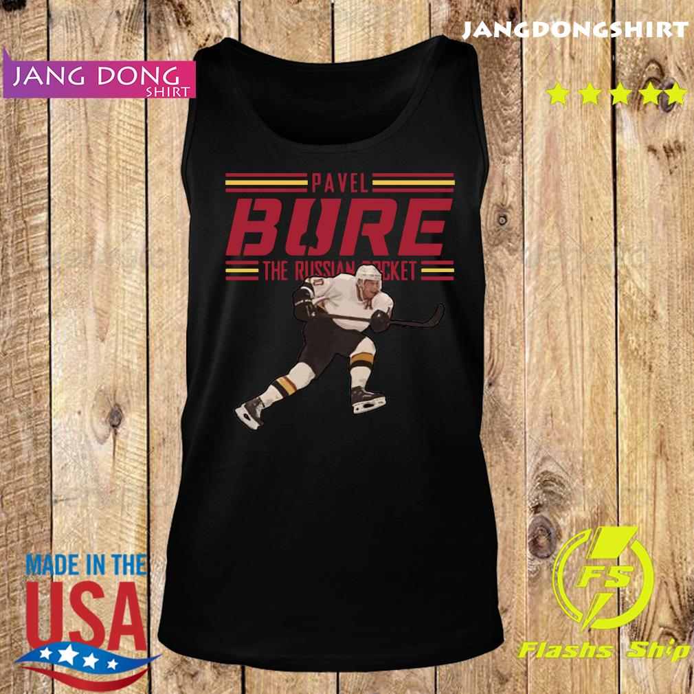 Pavel Bure The Russian Rocket Play T-Shirt Tank top