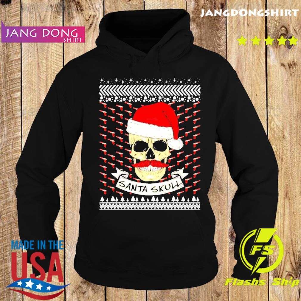 Santa Skull ugly Christmas Shirt Hoodie