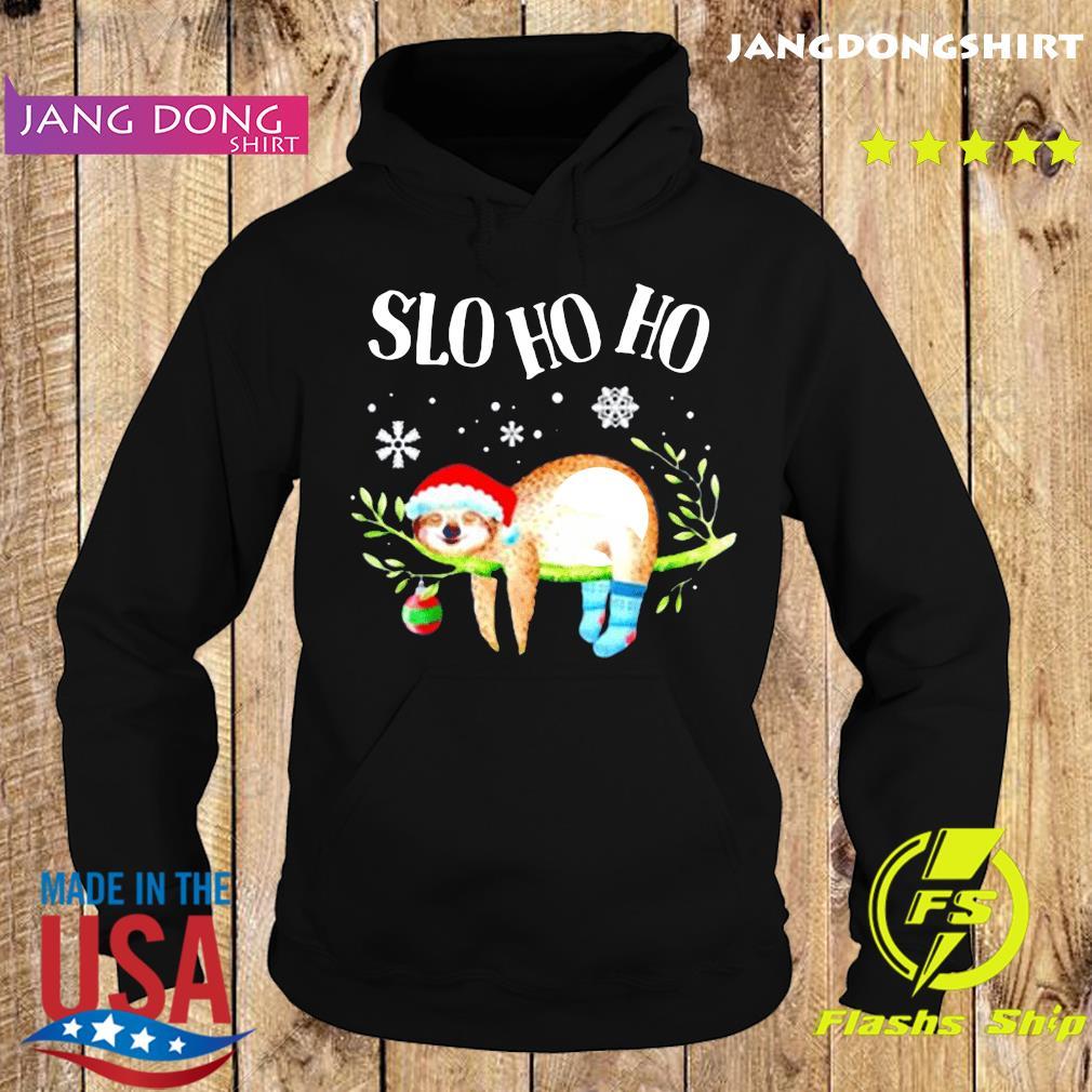 Sloth slo ho ho Christmas 2020 T-Shirt Hoodie