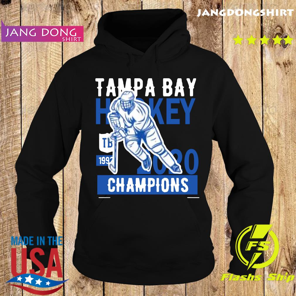 Tampa Bay Cup Hockey Winners 2020 Tee Shirt Lightning Gift T-Shirt Hoodie