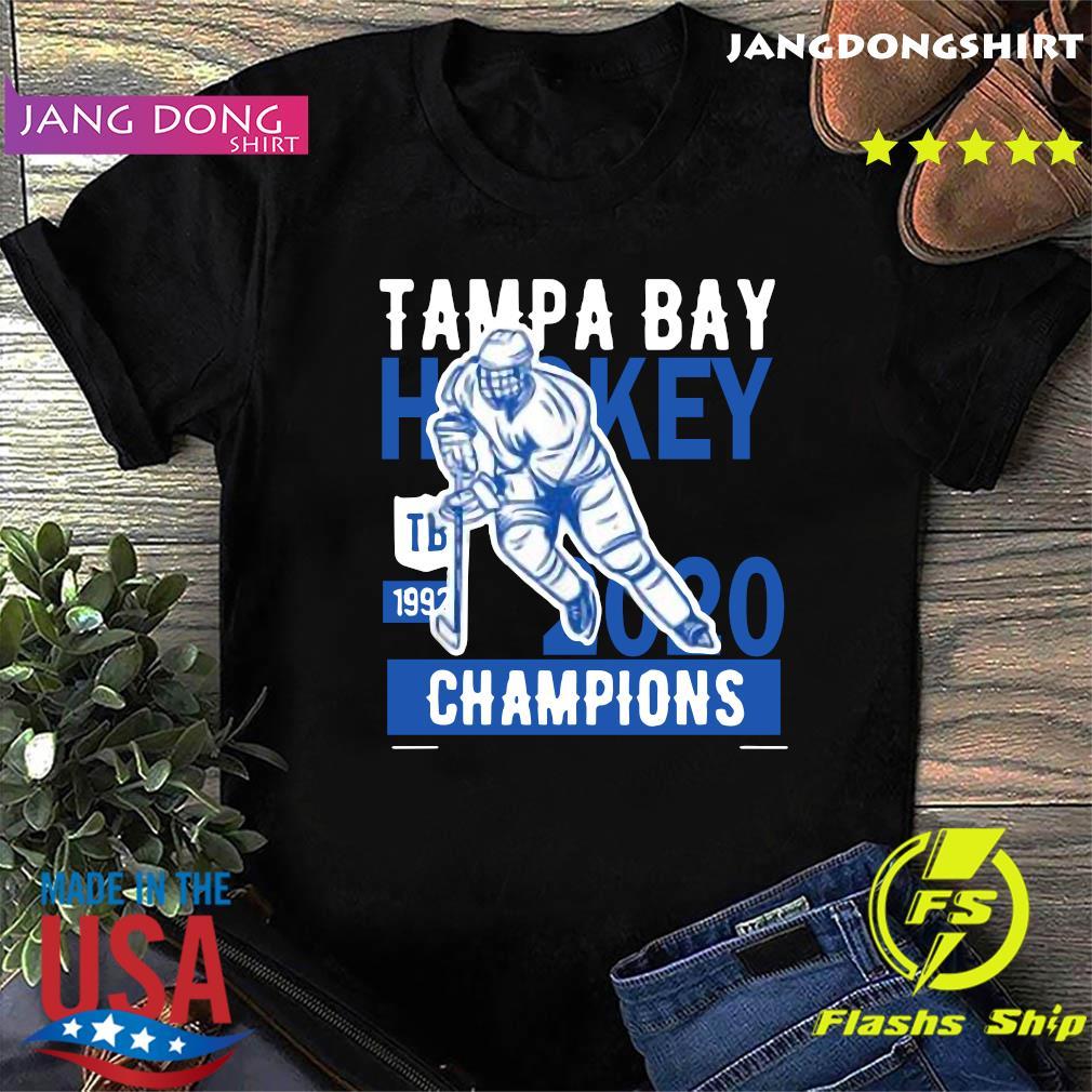 Tampa Bay Cup Hockey Winners 2020 Tee Shirt Lightning Gift T-Shirt