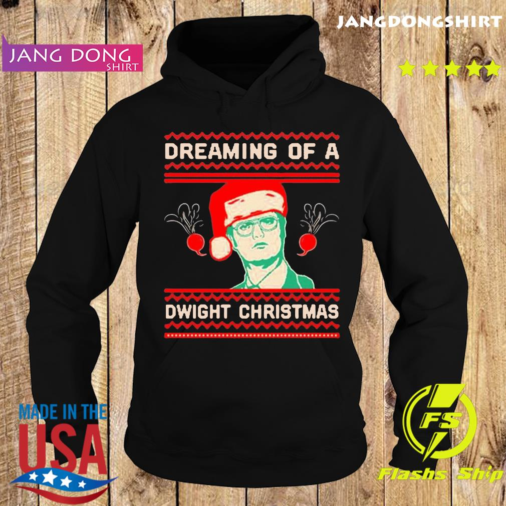 The Office TV series Dreaming of a Dwight Christmas T-Shirt Hoodie