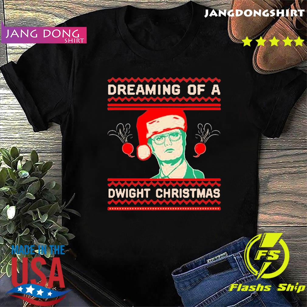 The Office TV series Dreaming of a Dwight Christmas T-Shirt