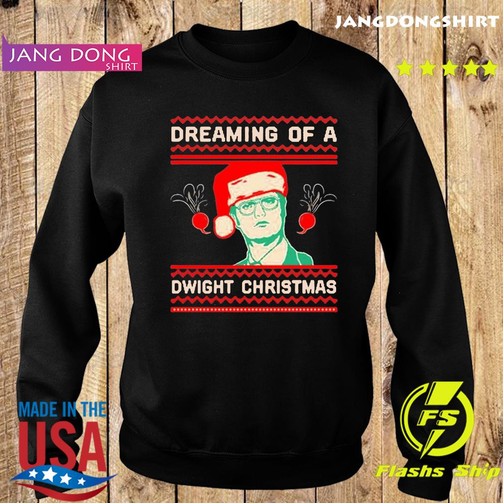 The Office TV series Dreaming of a Dwight Christmas T-Shirt Sweater