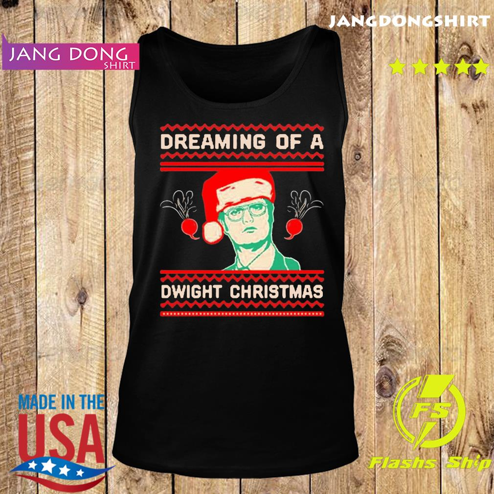 The Office TV series Dreaming of a Dwight Christmas T-Shirt Tank top