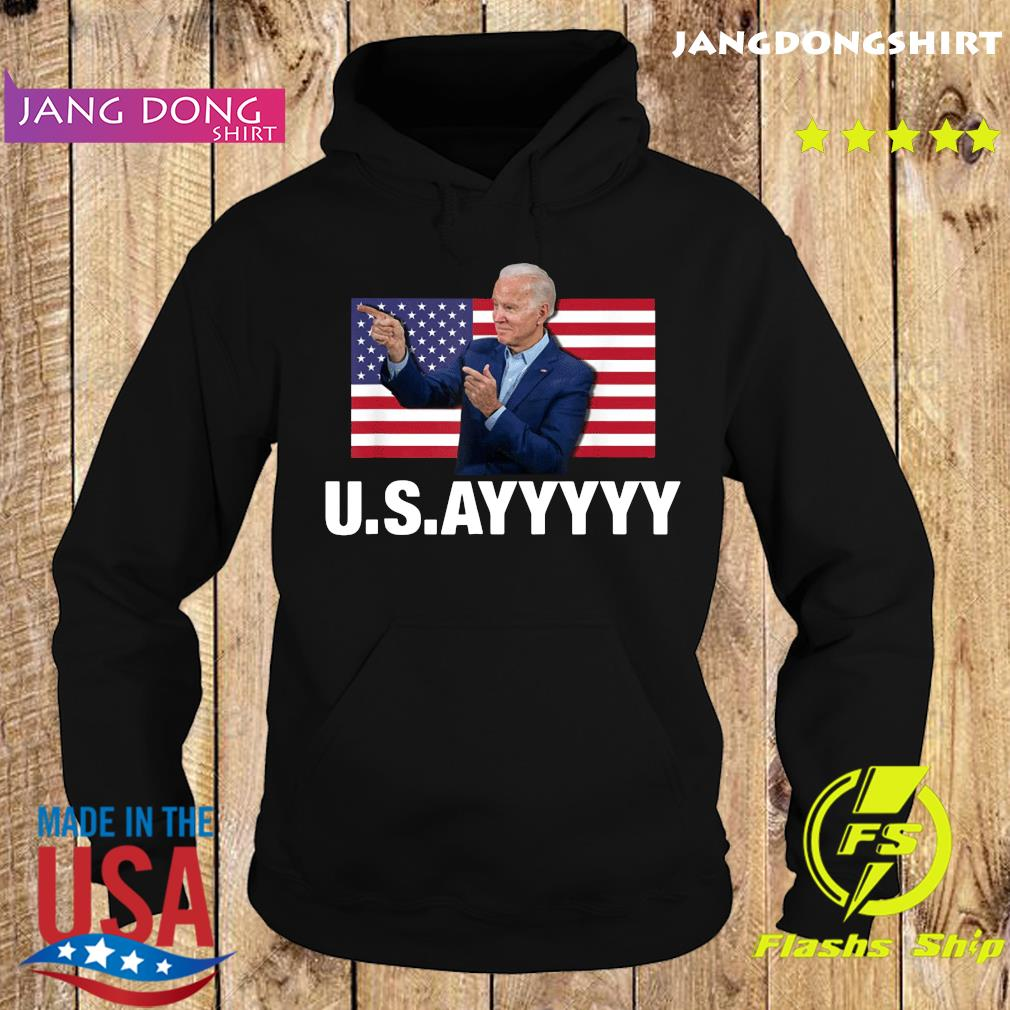 USAYYYYY – USA Joe Biden American Flag Winner Democrat T-Shirt Hoodie