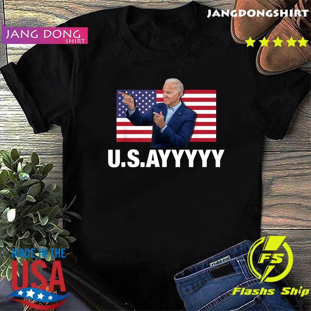 USAYYYYY – USA Joe Biden American Flag Winner Democrat T-Shirt