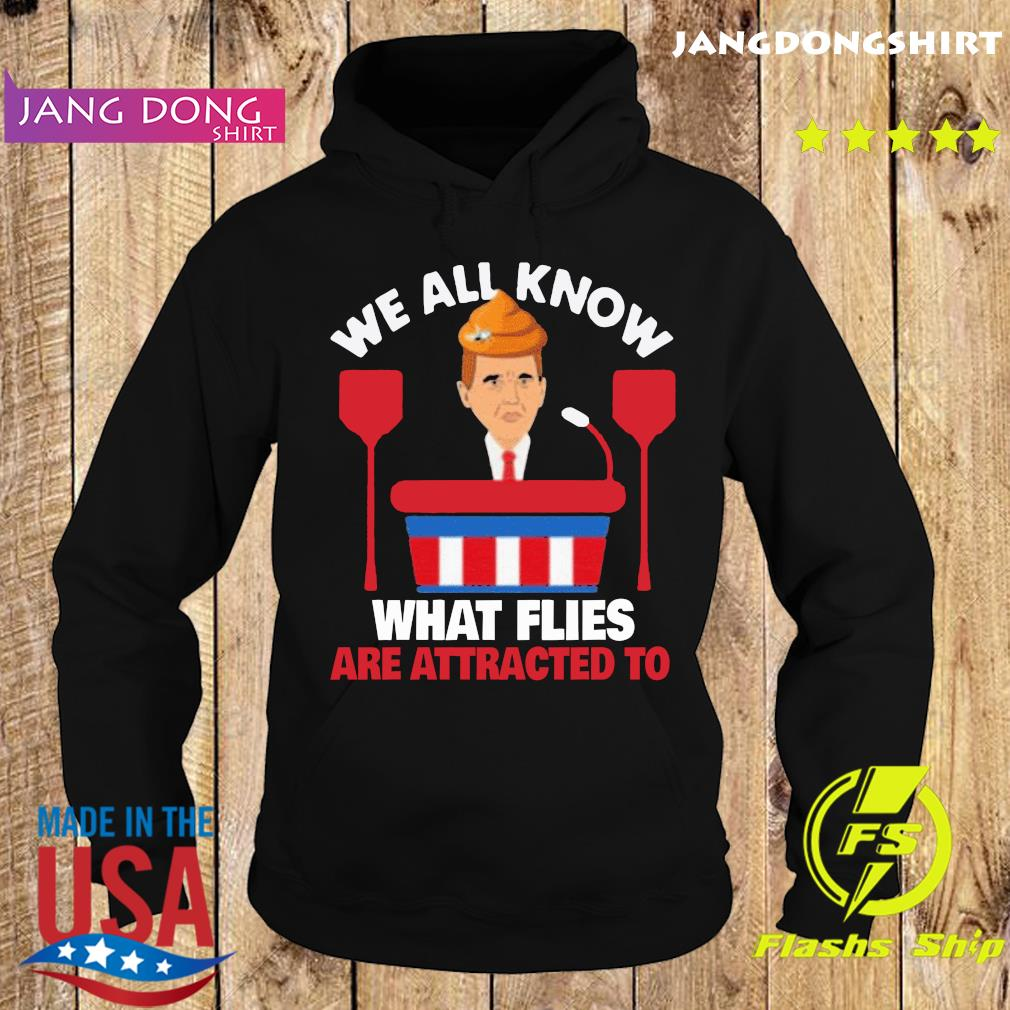 We All Know What Flies Are Attracted To Funny Pence 2020 VP Debate Shirt Hoodie