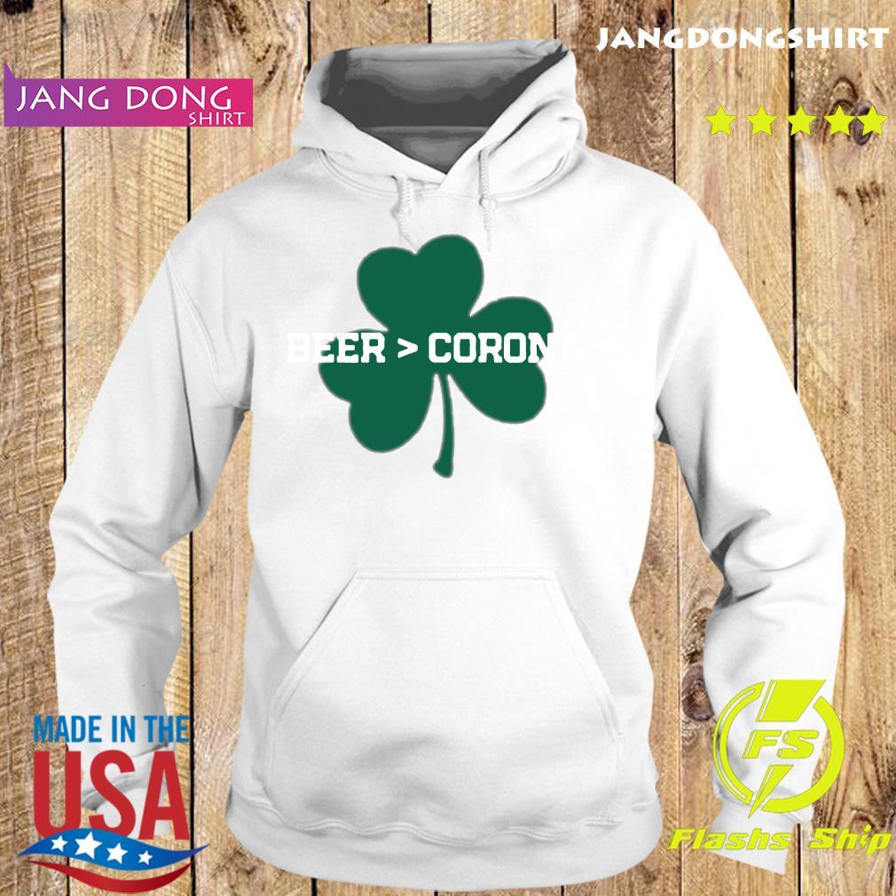Beer Corona Saint Patrick's Day 2021 Shirt Hoodie