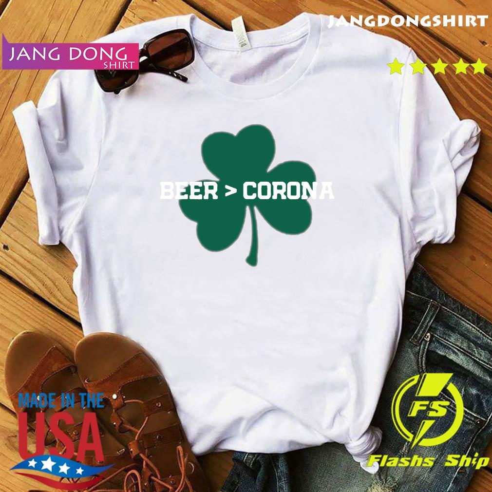 Beer Corona Saint Patrick's Day 2021 Shirt