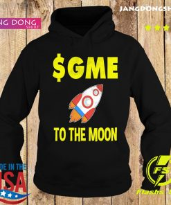 $GME To The Moon Ff GameStonk Shirt Hoodie