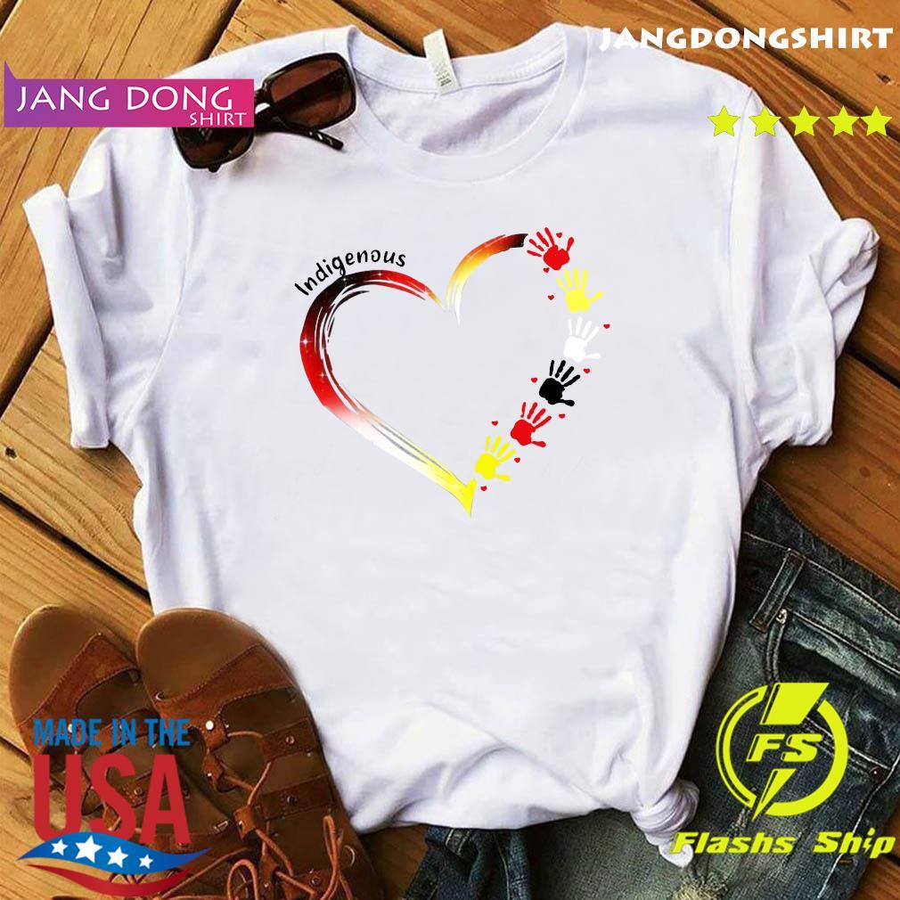 Heart Indigenous Hands Shirt