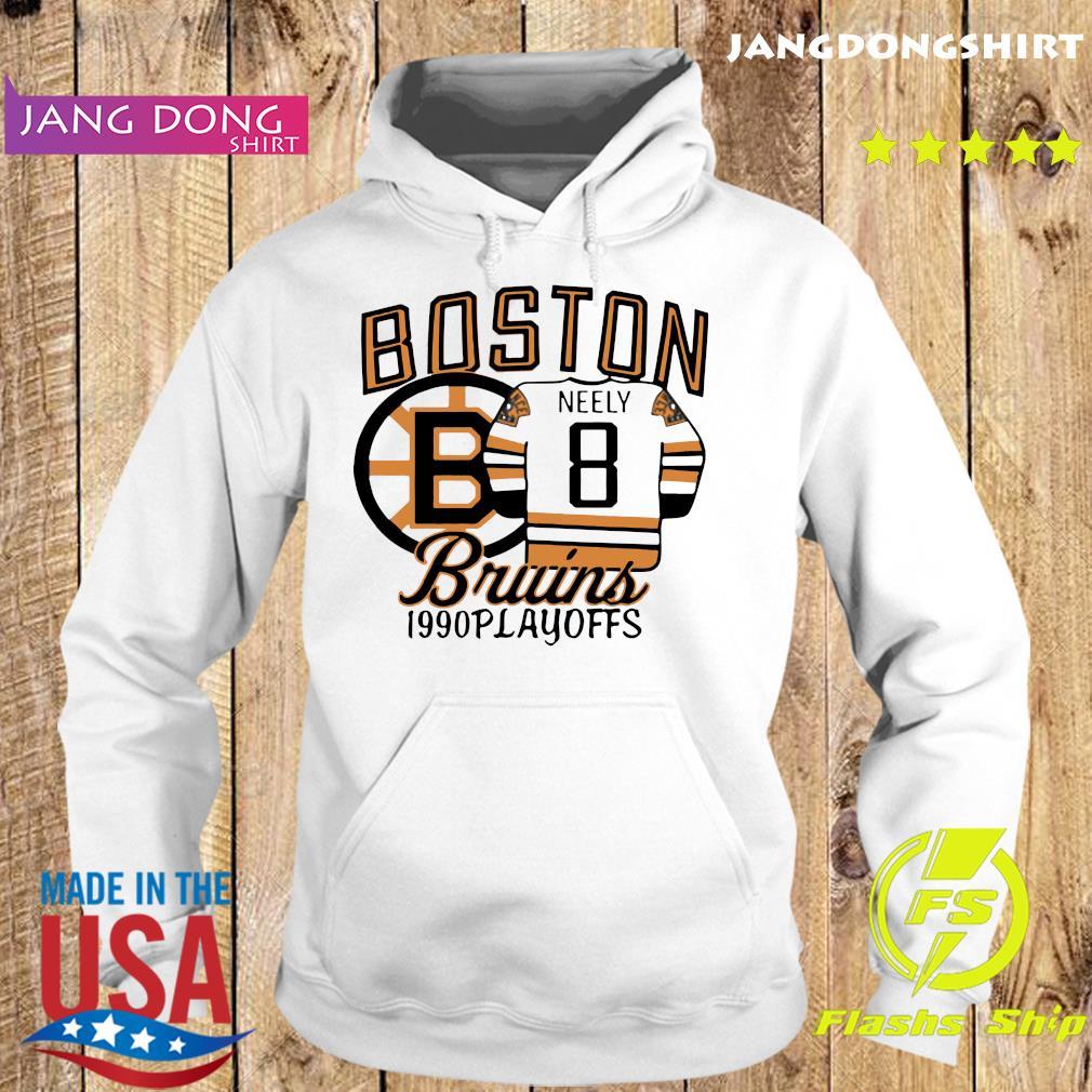The Bruins 1990 Playoffs Boston 8 Neely Shirt Hoodie