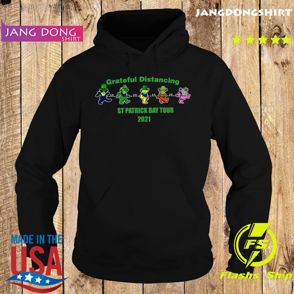 Official Grateful Distancing St Patricks Day Tour 2021 Shirt Hoodie