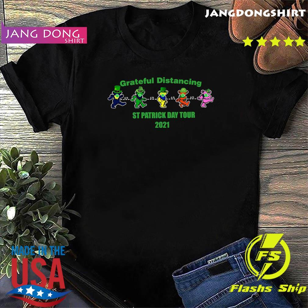 Official Grateful Distancing St Patricks Day Tour 2021 Shirt