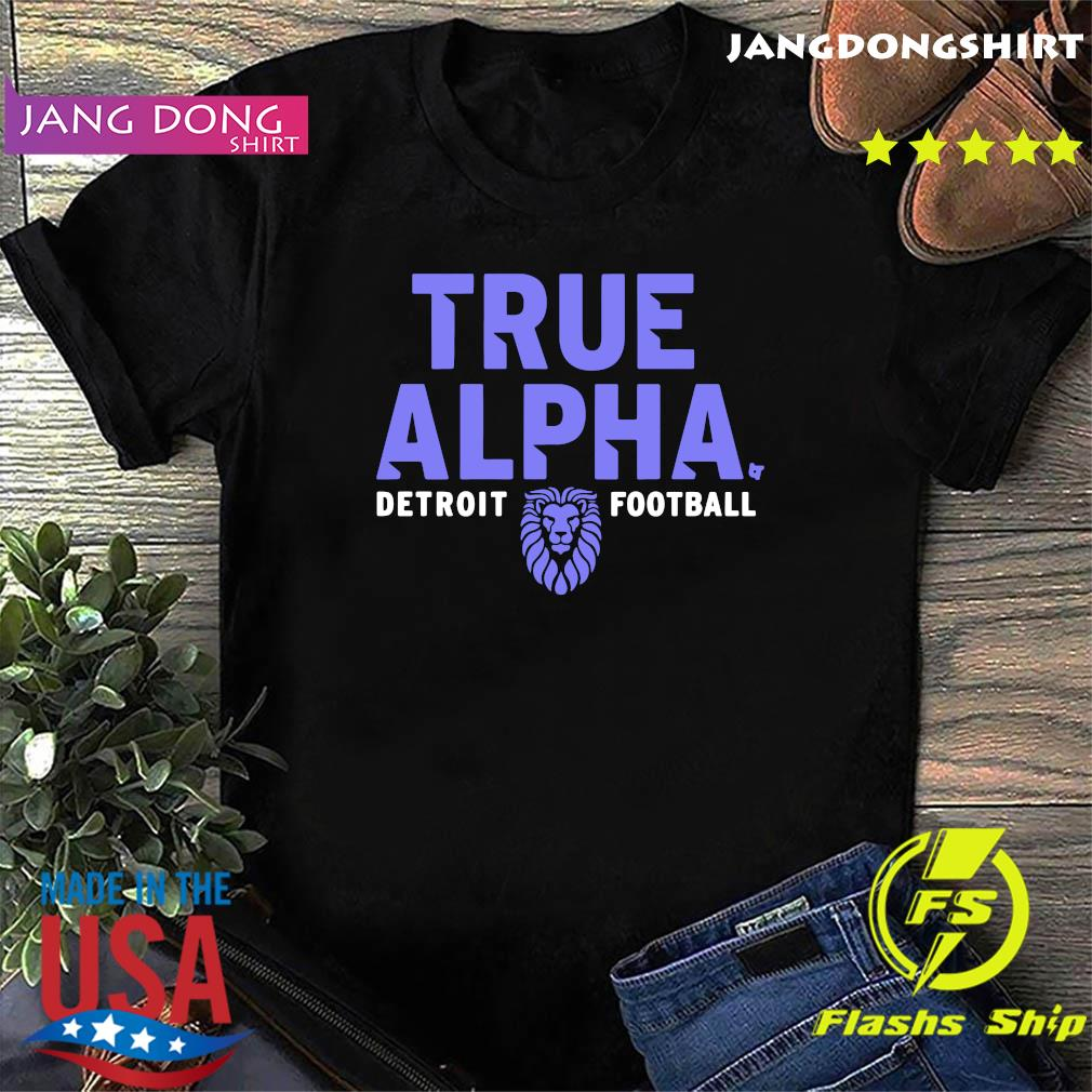 Official True Alpha Detroit Football Shirt