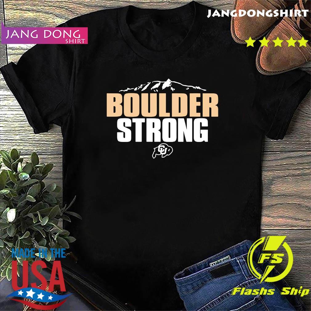official Colorado Buffaloes Boulder Strong T-Shirt