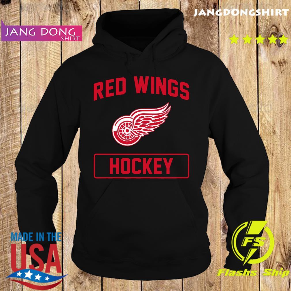 Official Red Wings Hockey Shirt Hoodie