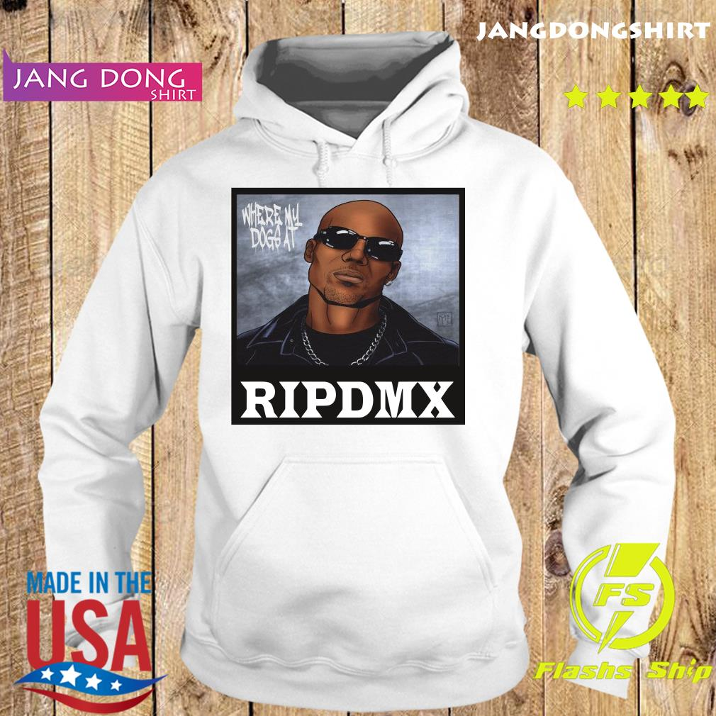 Official Rip DMX Where My Dog At s Hoodie